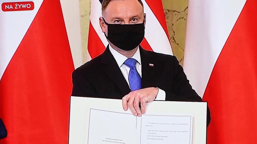 Andrzej Duda, umowa wojskowa z USA