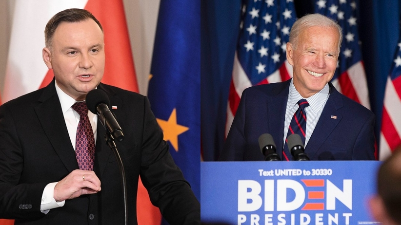 Andrzej Duda gratuluje Joe Bidenowi elekcji