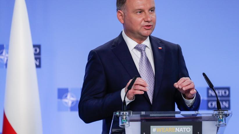Duda spotkał się z nowym prezydentem Ukrainy. Rozmawiali o relacjach między krajami