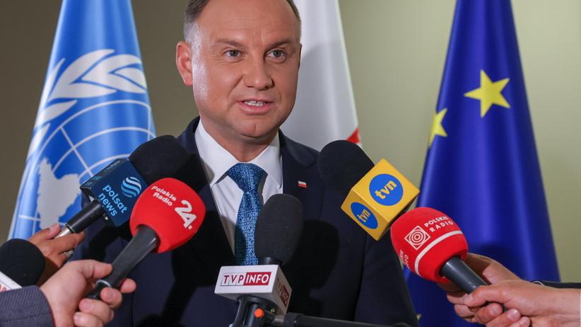 Andrzej Duda o sporze Polski z UE o sądownictwo