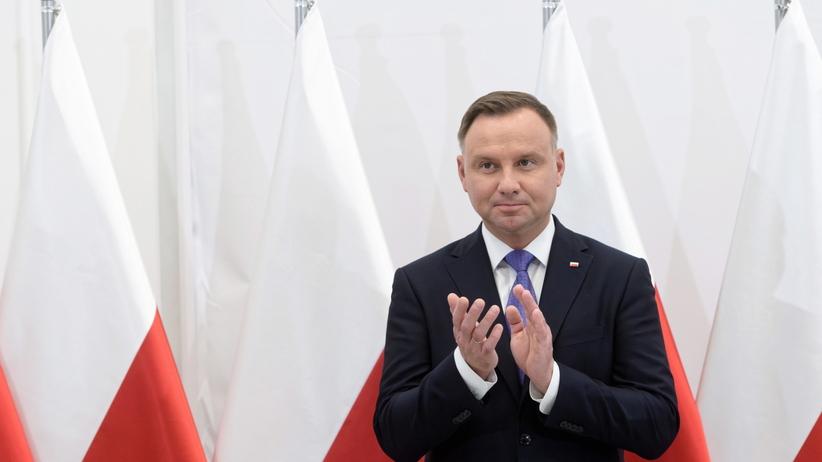 Andrzej Duda wygłosi dziś telewizyjne orędzie