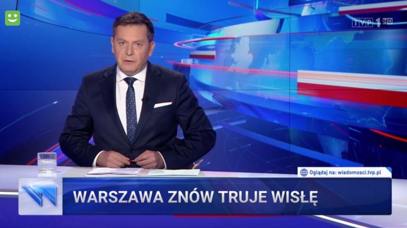 Wiadomości TVP screen