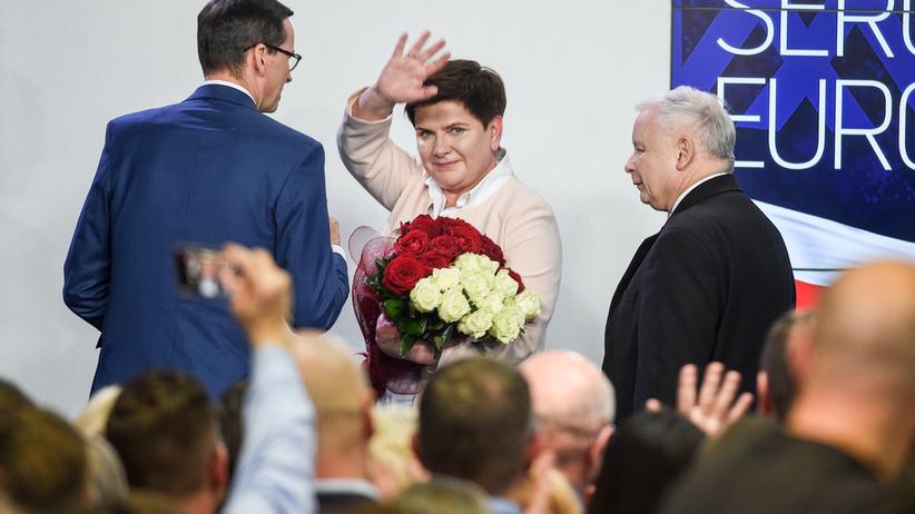 """Beata Szydło: """"Czas Tuska w polskiej polityce się skończył"""""""