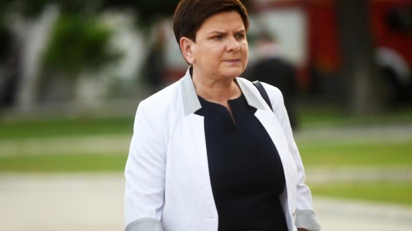 Beata Szydło rezygnuje z ochrony SOP.