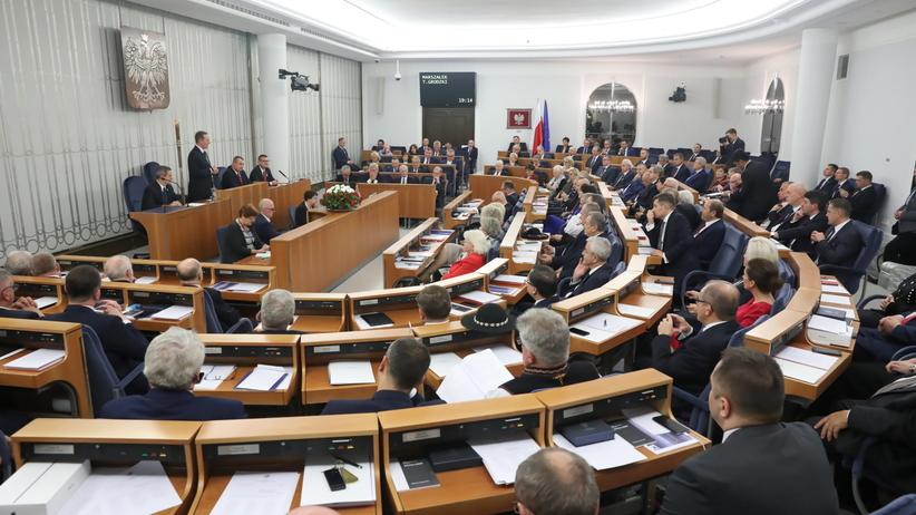 Senat wybrał wicemarszałków