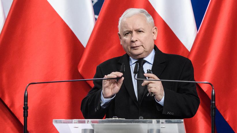 Kaczyński w Chełmie: Potrzebna jest pełna mobilizacja, wszystko się może zdarzyć