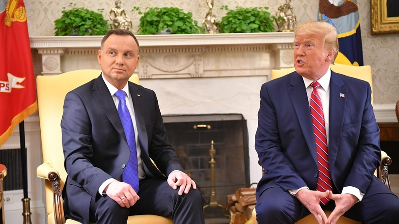 Trump miał nie chcieć wizyty w Polsce