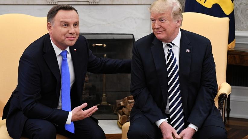 Donald Trump w Polsce