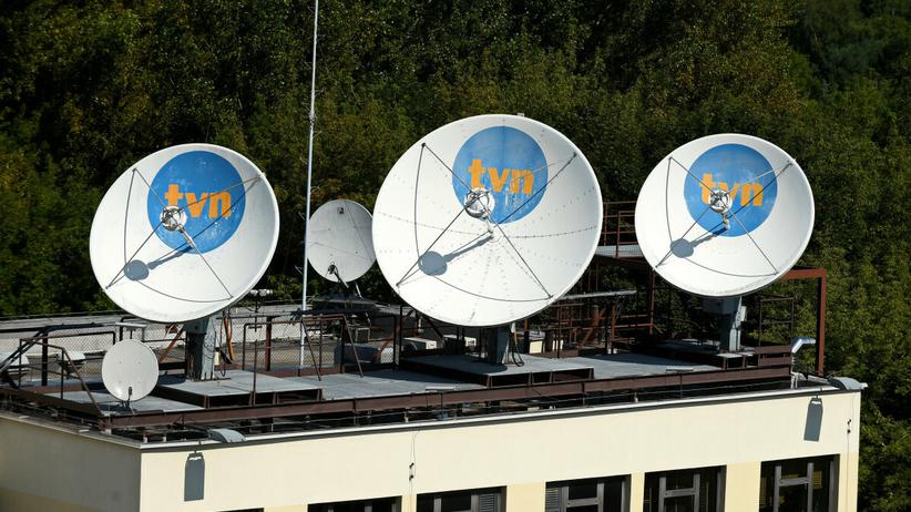 Siedziba TVN przy ulicy Wiertniczej
