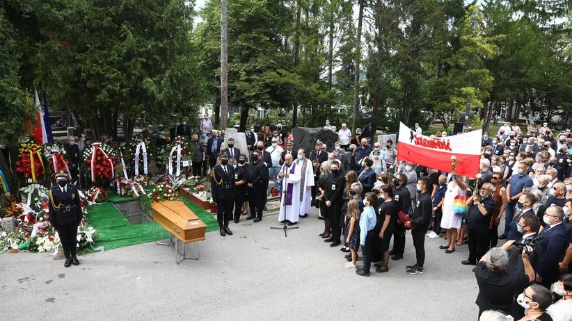 Pogrzeb Henryka Wujca