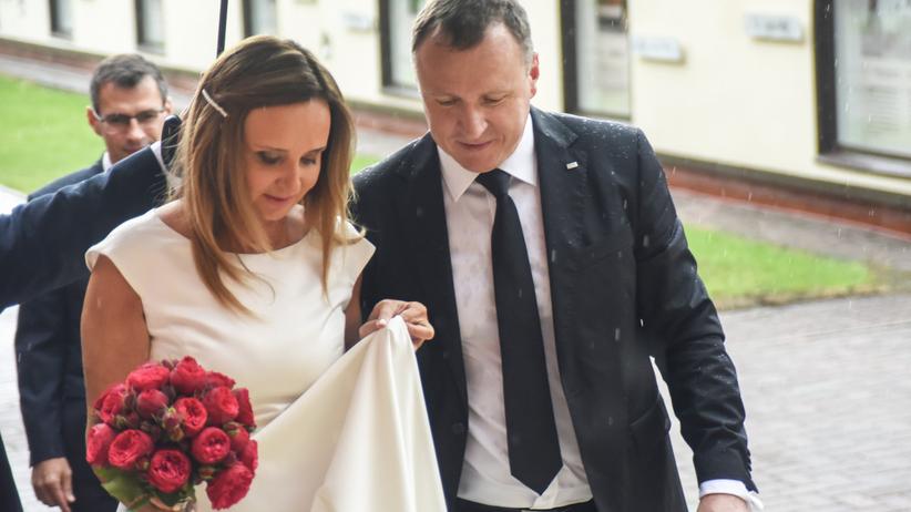Jacek Kurski - ślub z Joanną