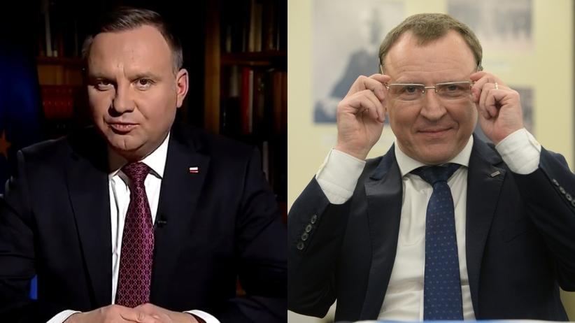 Bosak: Powrót Jacka Kurskiego do zarządu TVP to upokorzenie Dudy przez PiS