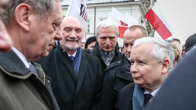 Jarosław Kaczyński, Jan Szyszko