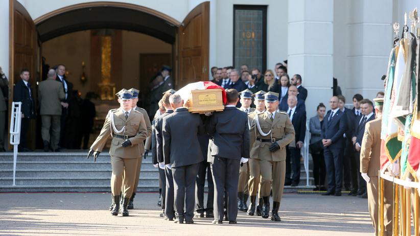 Jan Szyszko pogrzeb