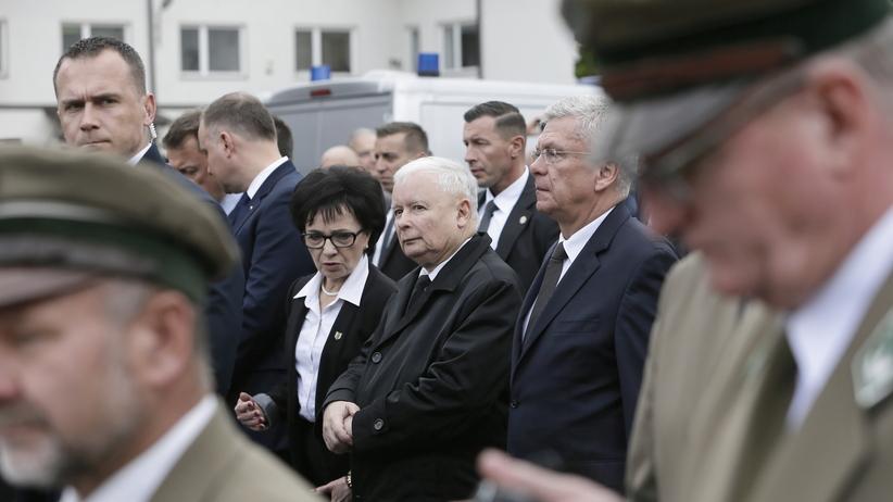 Kaczyński pożegnał Jana Szyszkę: odszedł w walce, był człowiekiem naprawy