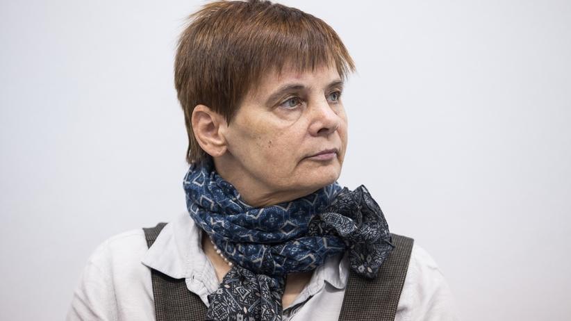 """Janina Ochojska nie podałaby ręki premierowi. Jej zdaniem to """"akceptacja tego, co ten człowiek robi"""""""