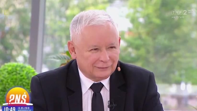"""Jarosław Kaczyński w TVP """"Pytanie na śniadanie"""""""