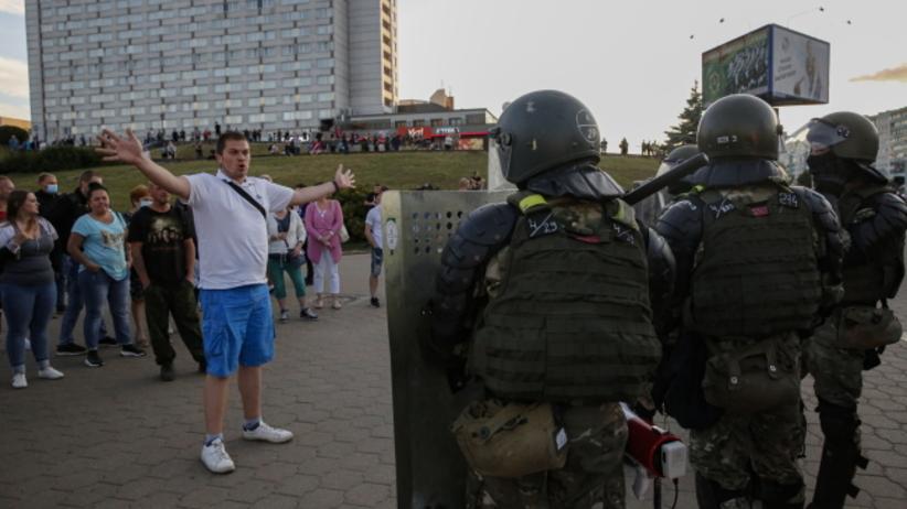 zamieszki na Białorusi po wyborach