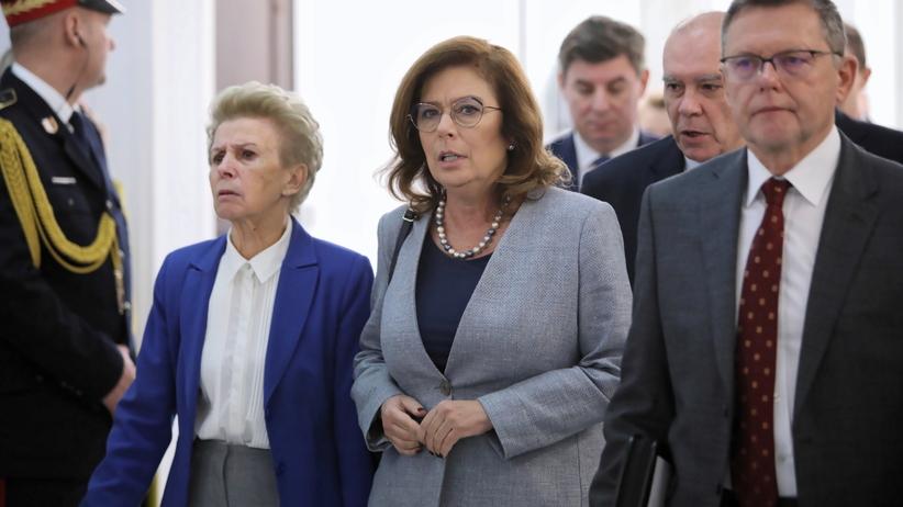 """Kidawa-Błońska ma żal do Jaśkowiaka? """"Wolałabym dowiedzieć się od niego"""""""