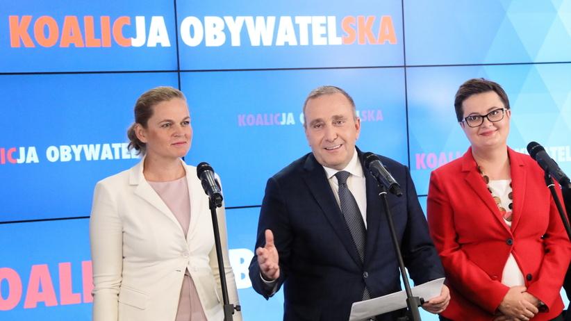 Koalicja Obywatelska przedstawiła jedynki wyborcze