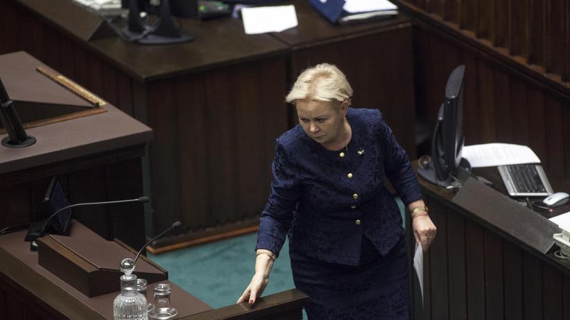 Posłanka PO Krystyna Skowrońska