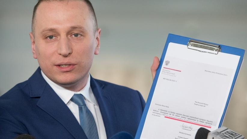 Krzysztof Brejza rezygnuje ze startu do Sejmu