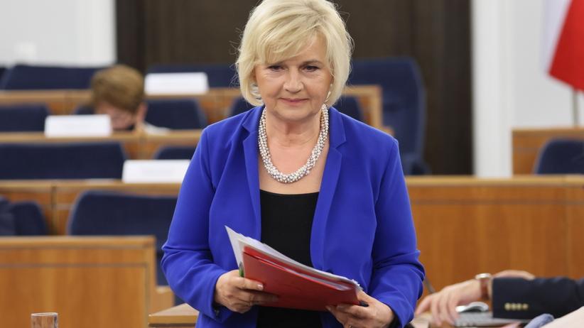Senator Lidia Staroń, kandydatka na RPO