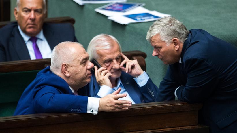 Marek Suski, kryzys w rządzie