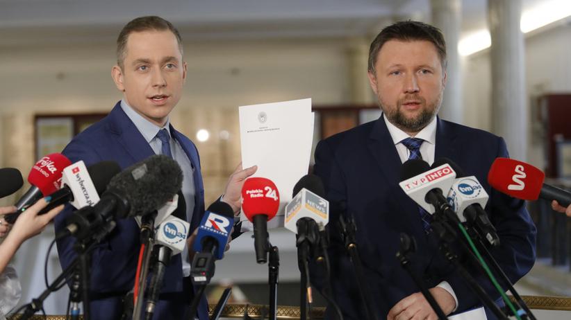 Cezary Tomczyk i Marcin Kierwiński
