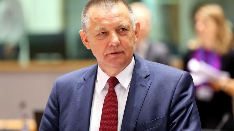 Marian Banaś żegna się z resortem finansów. Jest kandydatem na szefa NIK