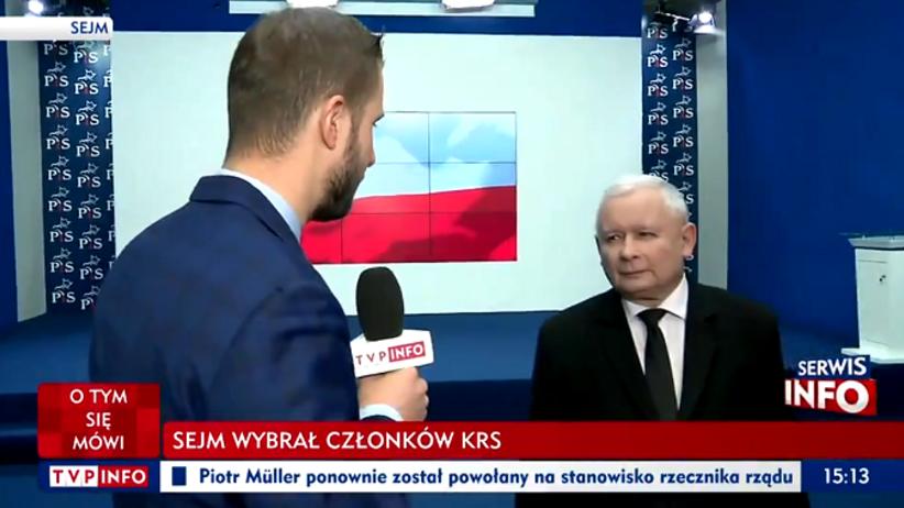 Miłosz Kłeczek, Jarosław Kaczyński