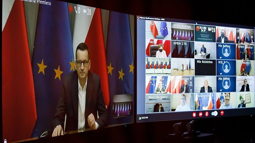 Posiedzenie Rządowego Zespołu Zarządzania Kryzysowego