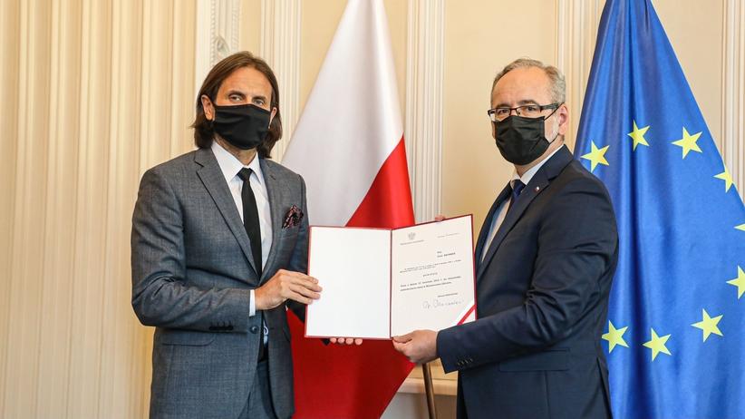 Piotr Bromber wiceministrem zdrowia
