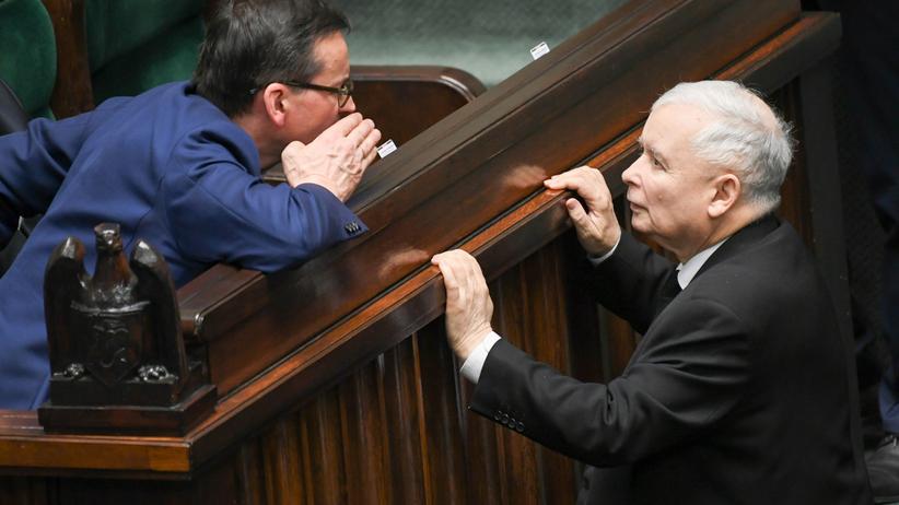 Kaczyński i Morawiecki