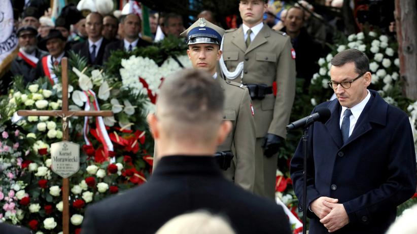 Pogrzeb Kornela Morawieckiego