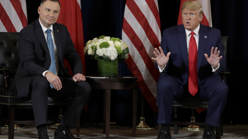 Polska wyśle misję medyczną do USA. Kulisy rozmowy Dudy z Trumpem