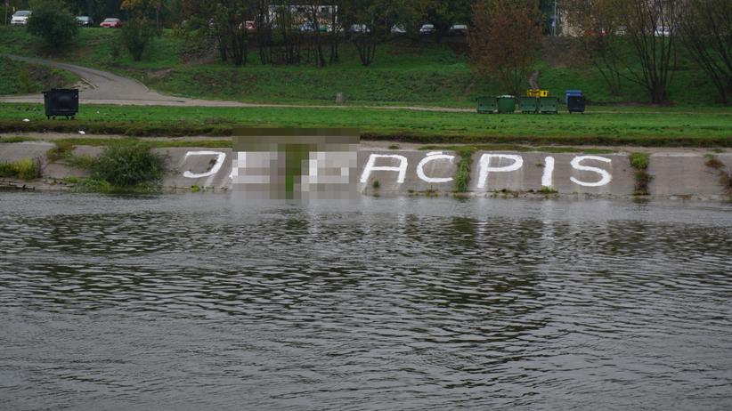 Rzeka Warta w Poznaniu