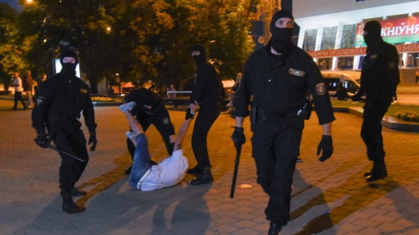 protesty na Białorusi po wyborach