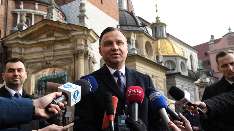 Prezydent Duda na Wawelu: Rzeczpospolita utraciła swoich najlepszych synów i córki