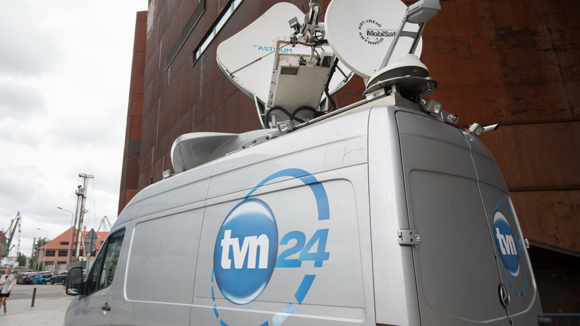 Wóz nadawczy TVN24
