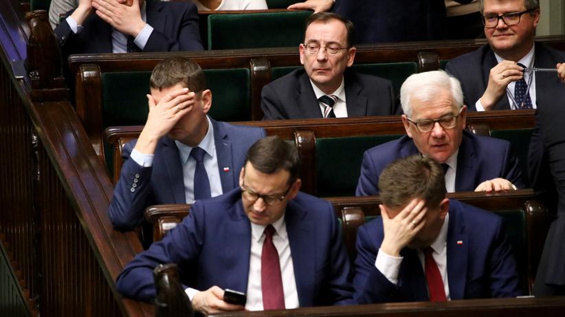 Mariusz Kaminski, Dariusz Piontkowski, Jacek Czaputowicz, Mateusz Morawiecki