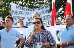 Renata Beger pod siedizbą PiS
