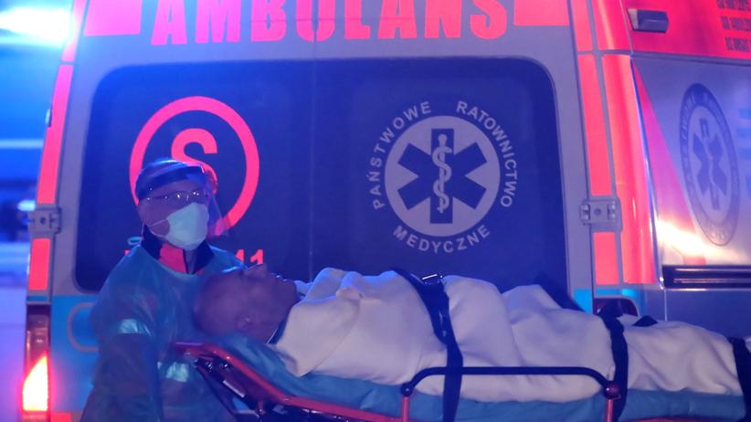 Roman Giertych w szpitalu TVP Info drwi