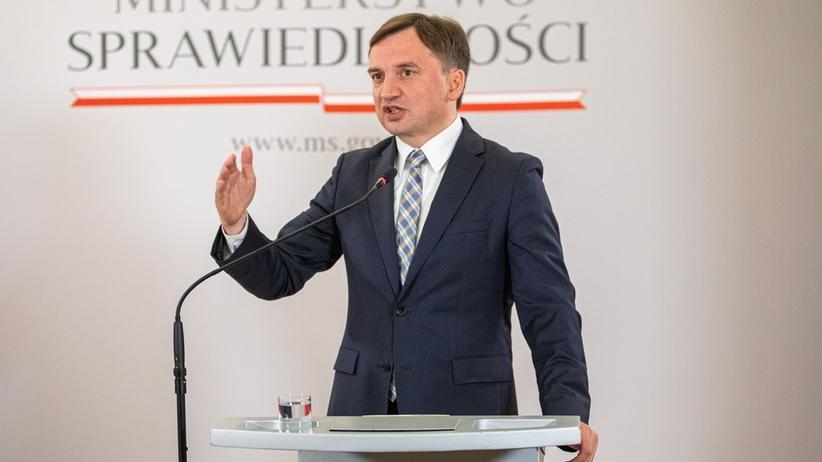 """Zbigniew Ziobro o zmianach w karach za zniesławienie. """"Wrócimy do sprawy po wyborach"""""""