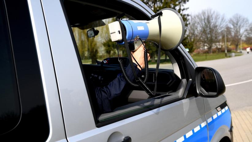 Policja koronawirus