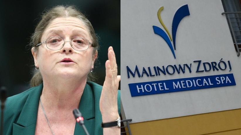 Sapepid skontrolował hotel Malinowy Zdrój