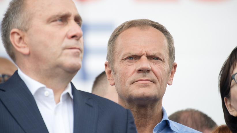 Tusk kandydatem na prezydenta w wyborach? Schetyna: wszystko jest otwarte