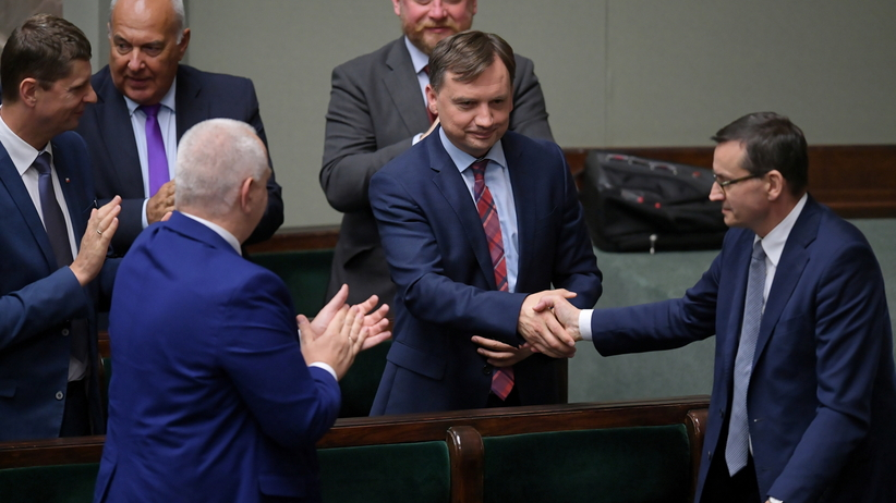 Wniosek o wotum nieufności dla Ziobry i Kamińskiego. Jest decyzja Sejmu