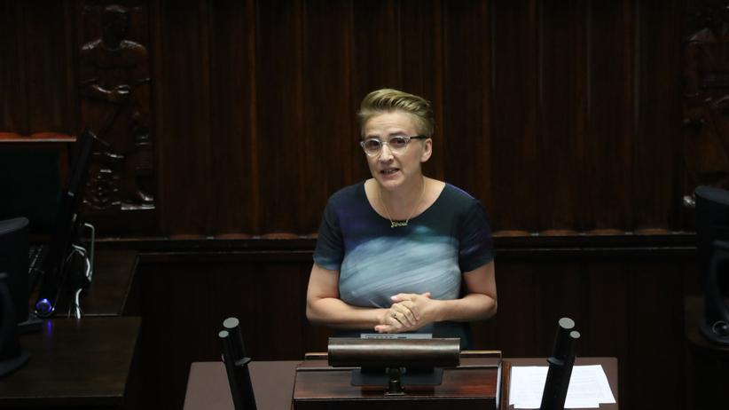 Posłanka Lewicy do Ziobry: zjechał pan na poziom mniej niż zero