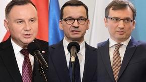 Andrzej Duda, Mateusz Morawiecki, Zbigniew Ziobro